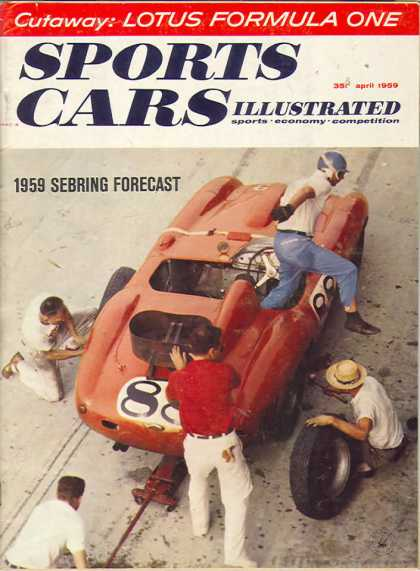 Sports Car Illustrated - April 1959