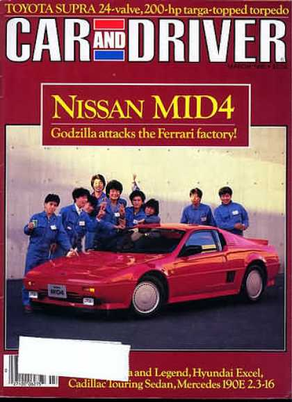 Sports Car Illustrated - March 1986