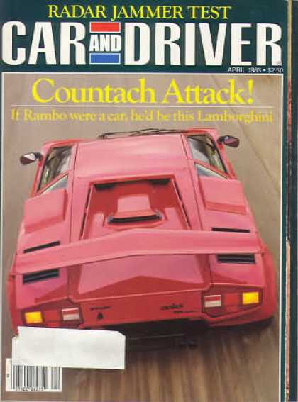 Sports Car Illustrated - April 1986