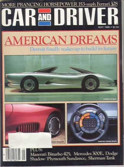 Sports Car Illustrated - May 1986