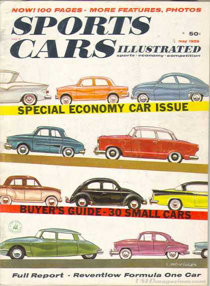 Sports Car Illustrated - May 1959