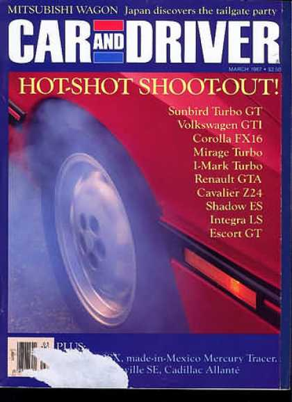 Sports Car Illustrated - March 1987