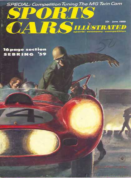 Sports Car Illustrated - June 1959