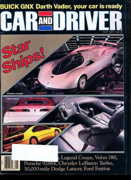 Sports Car Illustrated - May 1987