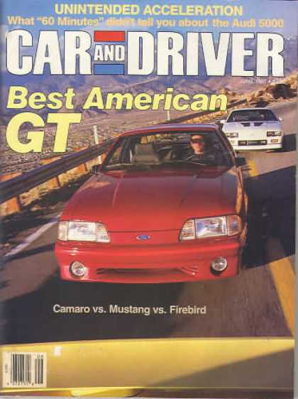 Sports Car Illustrated - June 1987