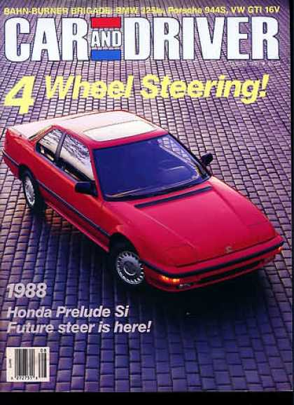 Sports Car Illustrated - August 1987