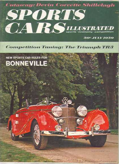 Sports Car Illustrated - July 1959
