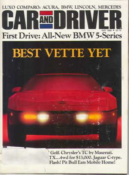 Sports Car Illustrated - May 1988