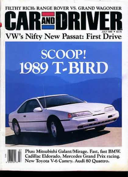 Sports Car Illustrated - July 1988