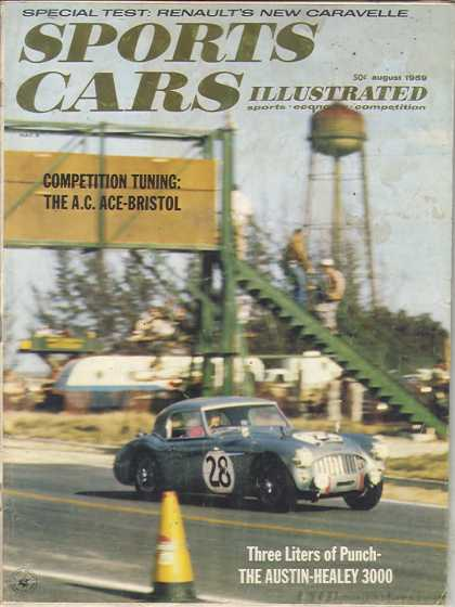 Sports Car Illustrated - August 1959