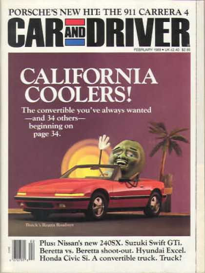 Sports Car Illustrated - February 1989