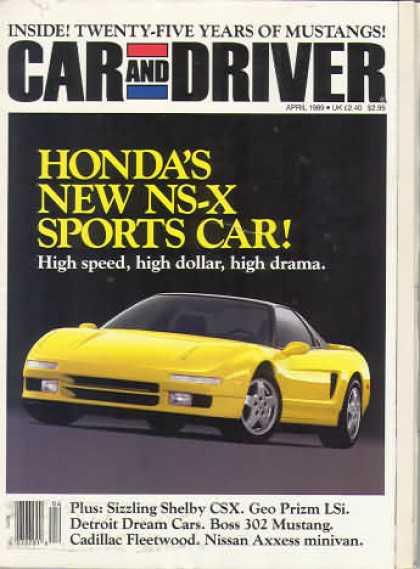 Sports Car Illustrated - April 1989