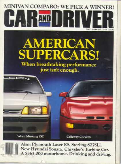 Sports Car Illustrated - May 1989
