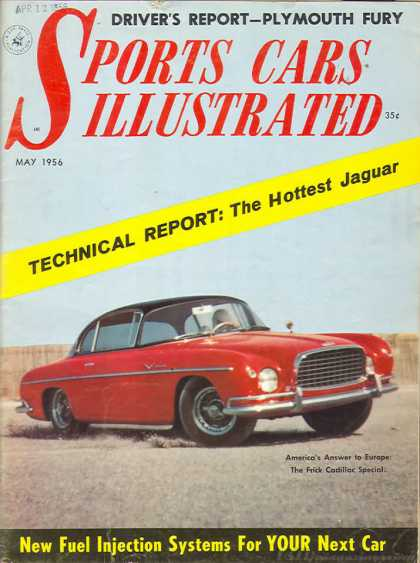 Sports Car Illustrated - May 1956
