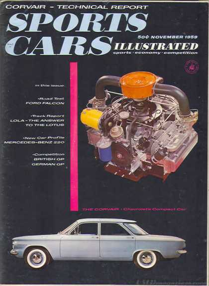 Sports Car Illustrated - November 1959