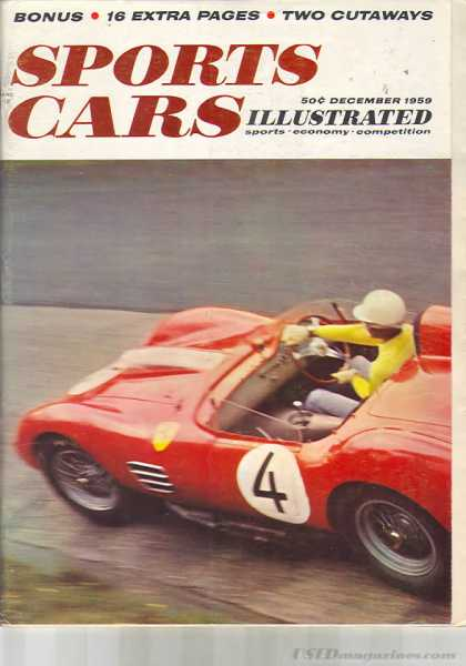 Sports Car Illustrated - December 1959