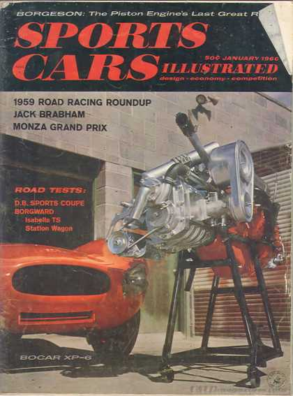 Sports Car Illustrated - January 1960