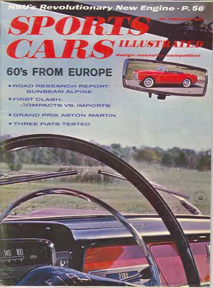 Sports Car Illustrated - February 1960
