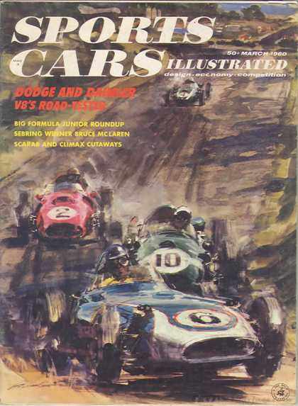 Sports Car Illustrated - March 1960