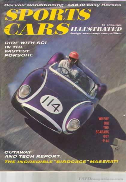Sports Car Illustrated - April 1960