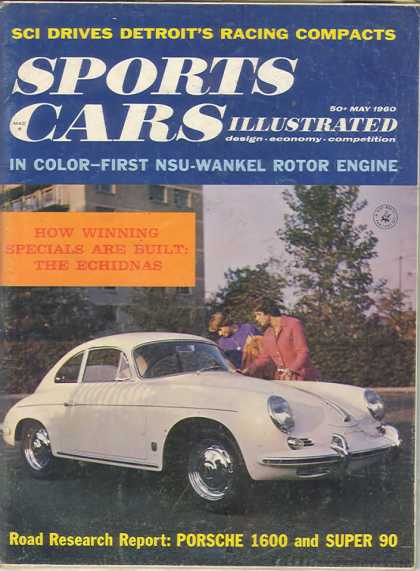 Sports Car Illustrated - May 1960