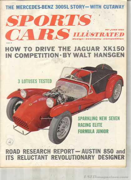 Sports Car Illustrated - June 1960