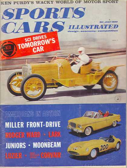 Sports Car Illustrated - July 1960