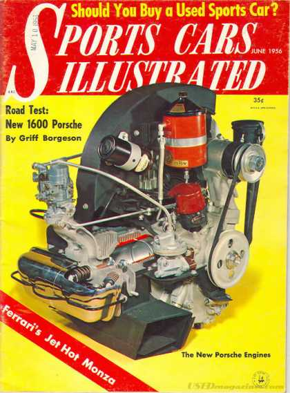 Sports Car Illustrated - June 1956