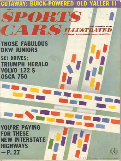 Sports Car Illustrated - August 1960