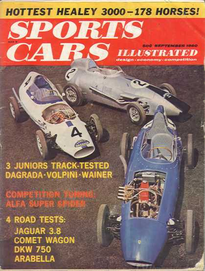 Sports Car Illustrated - September 1960