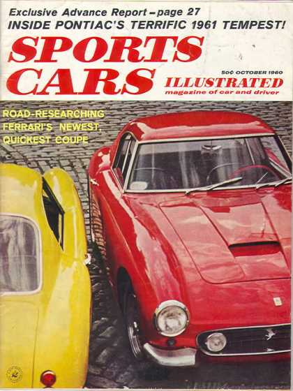 Sports Car Illustrated - October 1960