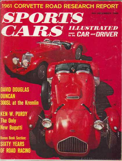 Sports Car Illustrated - December 1960