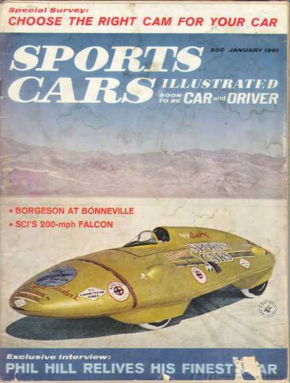 Sports Car Illustrated - January 1961