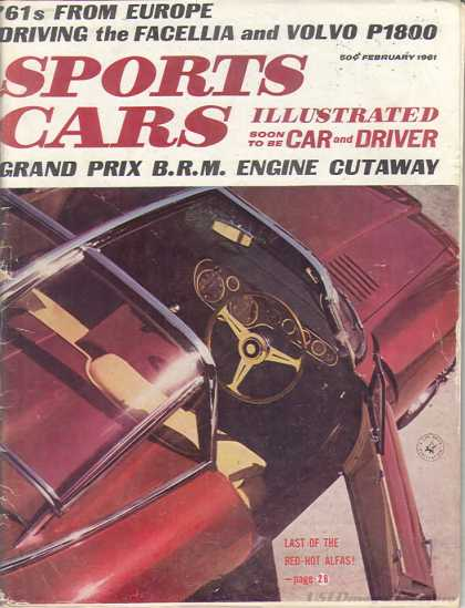 Sports Car Illustrated - February 1961