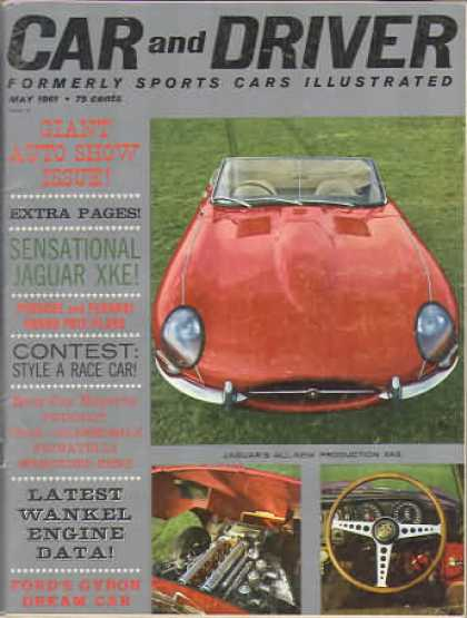 Sports Car Illustrated - May 1961