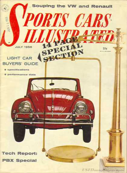Sports Car Illustrated - July 1956