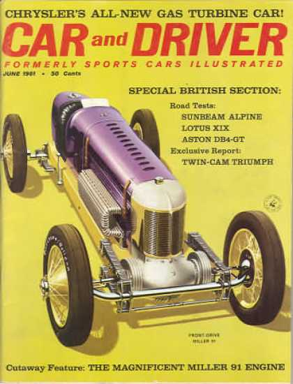 Sports Car Illustrated - June 1961
