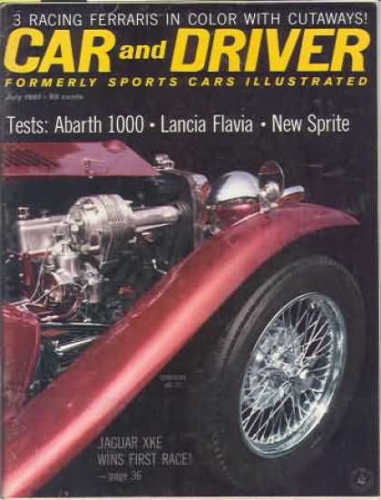Sports Car Illustrated - July 1961