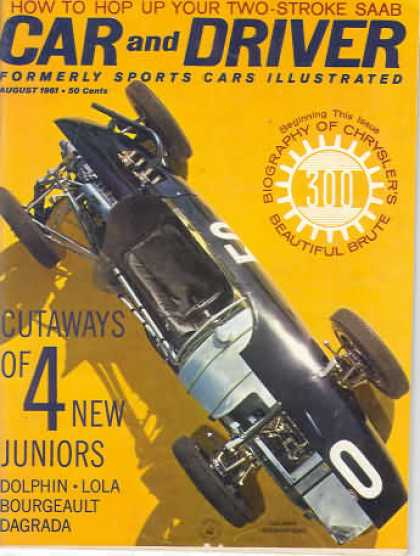 Sports Car Illustrated - August 1961