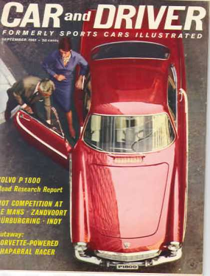 Sports Car Illustrated - September 1961