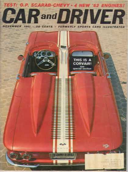 Sports Car Illustrated - November 1961