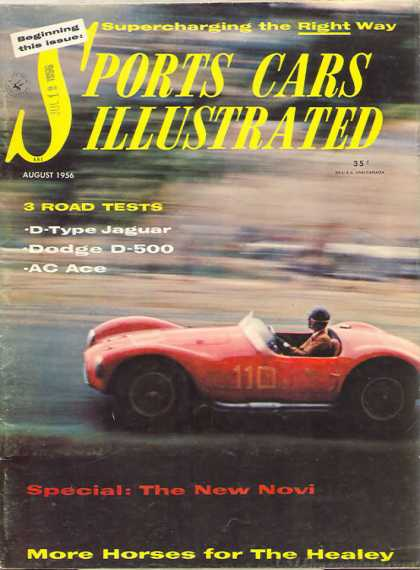 Sports Car Illustrated - August 1956