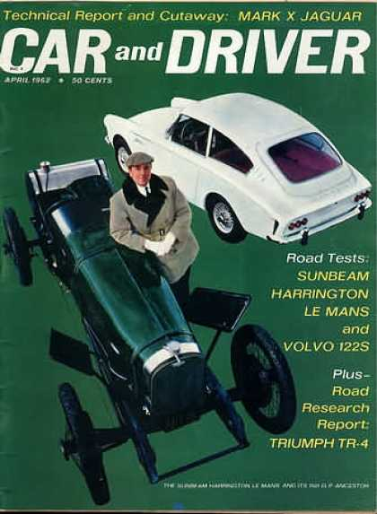 Sports Car Illustrated - April 1962