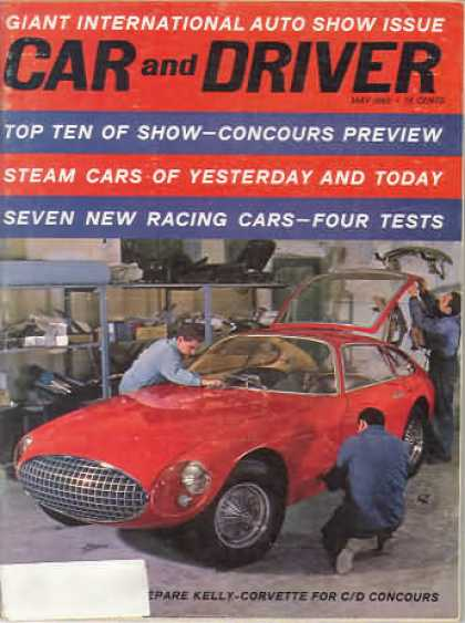 Sports Car Illustrated - May 1962
