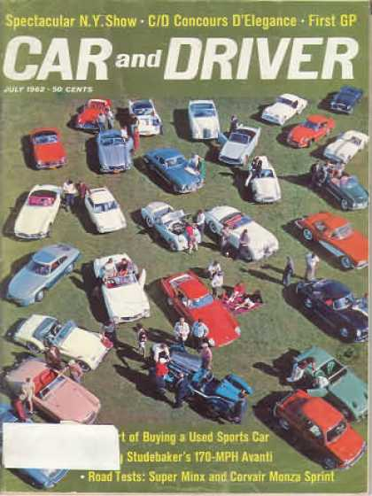 Sports Car Illustrated - July 1962