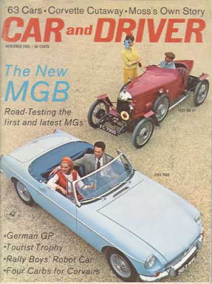 Sports Car Illustrated - November 1962