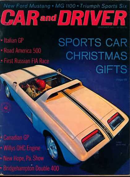 Sports Car Illustrated - December 1962