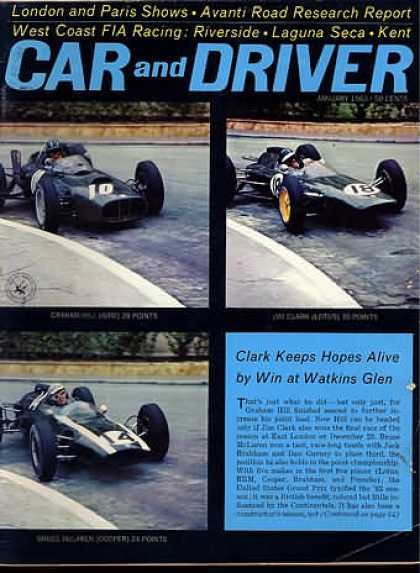 Sports Car Illustrated - January 1963