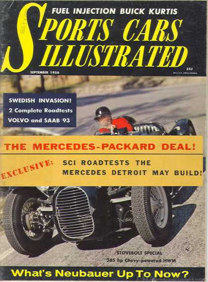 Sports Car Illustrated - September 1956