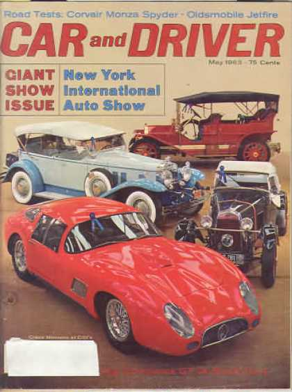 Sports Car Illustrated - May 1963